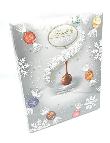 Lindt Lindor Verschiedene Schokoladentrüffel Adventskalender 300g
