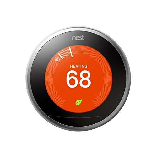 Nest Learning Thermostat, 3rd Generation (Certified Refurbished)