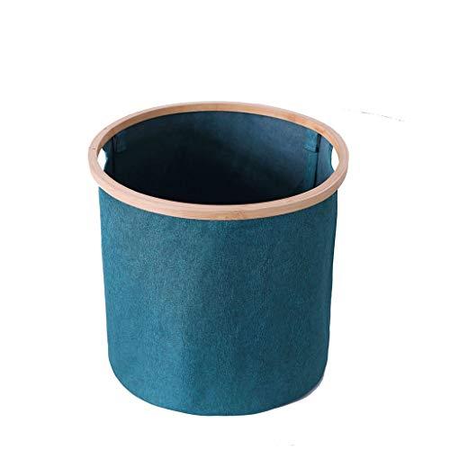 Foldable Fabric Laundry Hampers Large-capacity Round Laundry Baskets for Clothing Toy Storage Basket