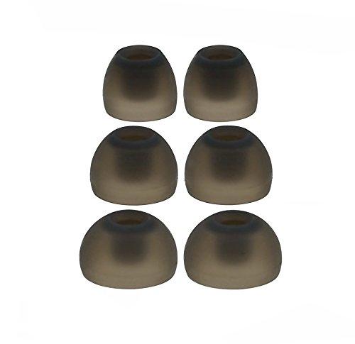 6 Stück : S/M/L Ergonomische Ersatz Set Ohrstöpsel Ohreinsätze für Sennheiser IE-Serie, CX-Serie, CXC Serie, CXL Serie, OCX-Serie und MM Serie In-Ear Ohrhörern Headsets