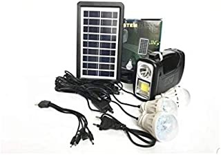 Solar Portable System with 3 Lights and 3 Lights with Mobile Charger