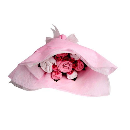 Flowerstork Baby Clothing Welcome Bouquet - Pink