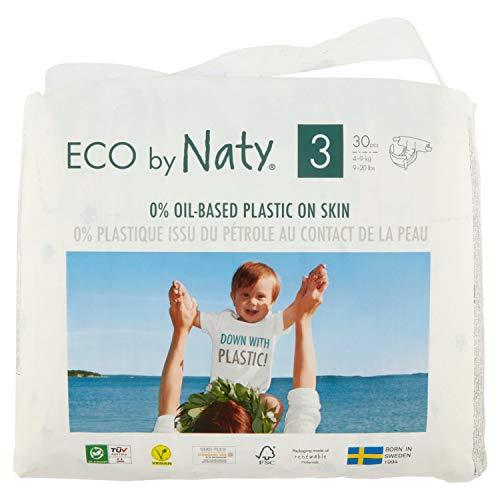 Eco by Naty Windeln Gr. 3 (4-9 kg)