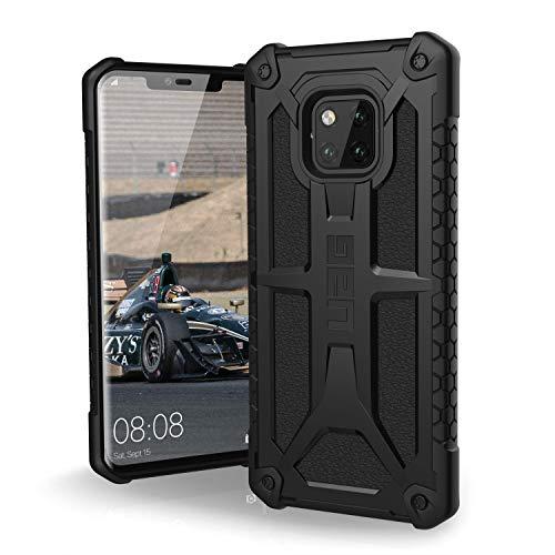Urban Armor Gear Monarch Hülle für das Huawei Mate20 Pro nach US-Militärstandard (Qi kompatibel, Verstärkte Ecken, Sturzfest, Vergrößerte Tasten] - schwarz