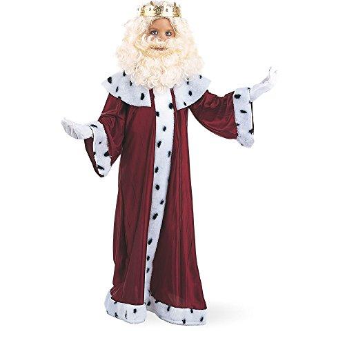 Limit Sport - Disfraz de Rey Gaspar con corona para nios (MI077)