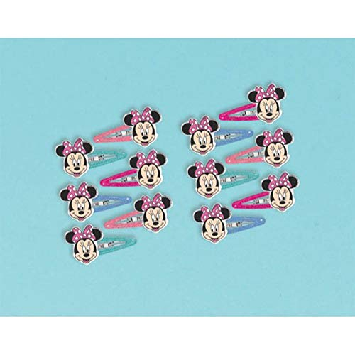 12-Piece Minnie Mouse Hair Accessories, Multicolored