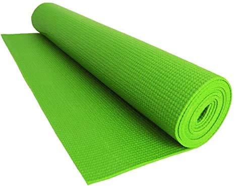 EUROSTYLE Tappeto 61X173CM in PVC Antiscivolo per Yoga Palestra Fitness Ginnastica Art. Zen (Verde)