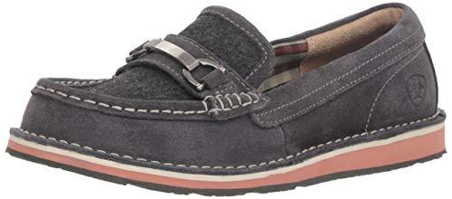 Ariat Women's IVY CRUISER Slip On Shoe, Grey/Wool, 5.5 B US