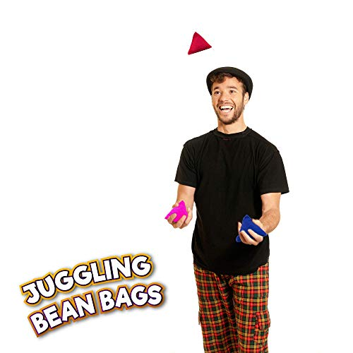 Juggle Dream 5 x Tri-it Juggling Bean Bags Unlimited Fun Learn Juggling With Bags Active Games