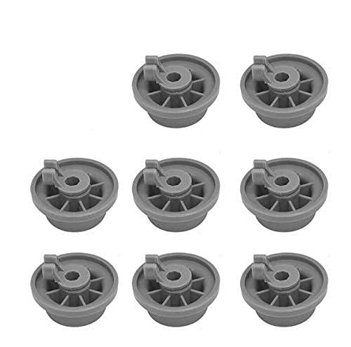 165314 - Rueda inferior para lavavajillas para Bosch Kenmore 420198 (8 unidades)