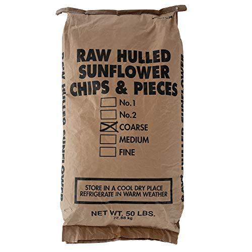 Shafer Seed 84076 Sunflower Kernels, 50-Lb Bag