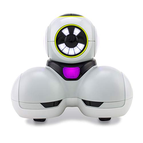 Wonder Workshop Cue Quartz- Coding Robot for Kids 10+ - Voice Activated - Navigates Objects - 4 Free Programming STEM Apps - Advance Learn to Code, White (QU01)