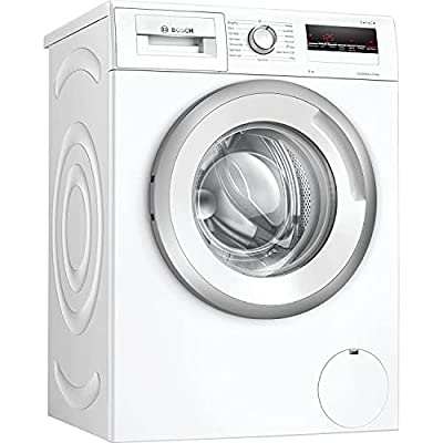 Bosch WAN24109GB Serie 4 Freestanding Washing Machine with SpeedPerfect, 8kg load, 1200rpm spin, White