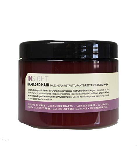 Insight Damaged - Mascarilla reestructurante para el cabello, 560 g