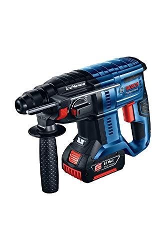 Bosch Akku-Bohrhammer 0611911023 GBH 180-LI 2x4,0Ah case PRO, blau