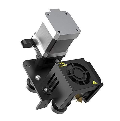 Creality Direct Drive Extruder Upgrade Kit for Ender-3 / Ender-3 Pro, Full Assembled of MK8 Extruder, Hotend, 42-40 Stepper Motor, Fan, V-Slot Wheels Carriage, Cables