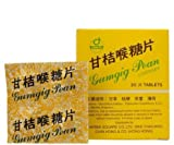 1 Box GUMGIG PEAN HERBAL LOZENGES Relief Throat Irritation Cleaning and Refresh