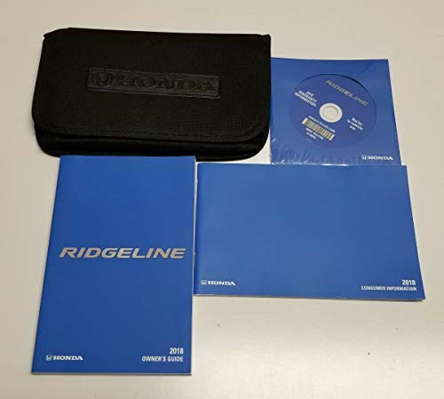 2018 Honda Ridgeline Owner Manual 18