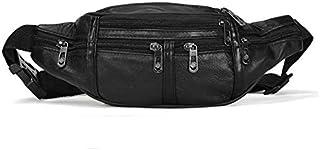 Pack Slim waterproof Waist Bag Adjustable Waist Bags Running Belt Hiking Sports Skiing Walking Carry iPhone Plus XS Max Samsung for Men Women Kids black