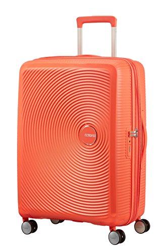 [アメリカンツーリスター] スーツケース キャリーケース サウンドボックス スピナー 67/24 TSA EXP 保証付 71L 67 cm 3.7kg スパイシーピーチ