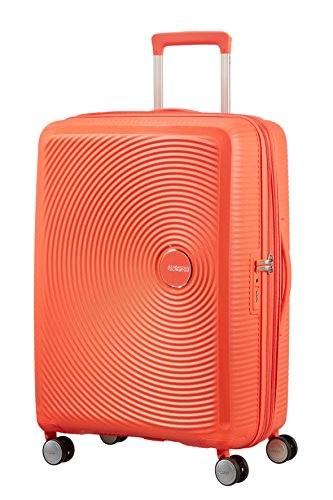 American Tourister - Soundbox Spinner Espandibile, 67cm, 71,5/81 L - 3,7 KG, Blu (Summer Blue)