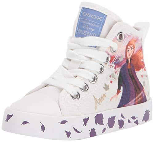 Geox Mädchen Ciak Sneaker Sneaker Größe 27 EU Weiß (Weiss)