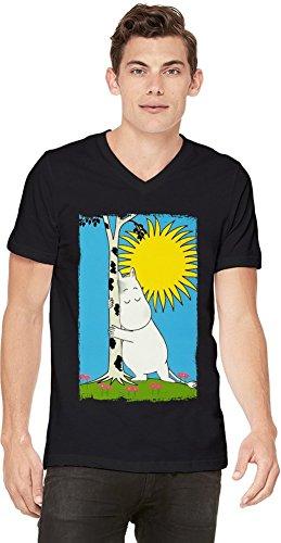 Furry moomin poster Mens V-neck T-shirt XX-Large