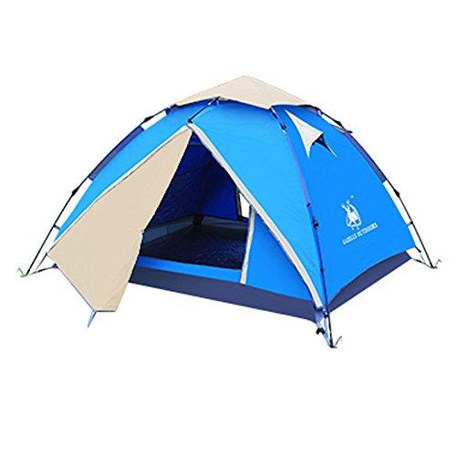 2 Homme Personne Pop Up Dôme Tente Festival Camping Randonnée Plage Rapide Instantanée Pitch