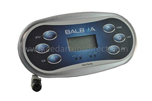 Northern Lights Group Balboa TP600 LCD 6-Button Panel PN 50056-06