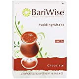 BariWise High Protein Shake / Low-Carb Diet Pudding & Shake Mix - Chocolate (7 Servings/Box) - Gluten Free, Low Fat, Low Carb