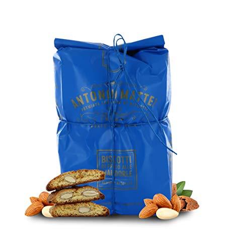 Biscotti di Prato alle Mandorle, Cantucci Classici alle Mandorle e Pinoli, Sacchetto 500g