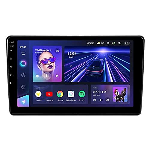 Amimilili CC3 Android 10 Radio de Coche Navegación GPS para Citroen Berlingo 2 B9 2008-2019 DSP/Carplay/USB/Bluetooth/FM/Enlace espejo/4G/Control del Volante/Cámara Trasera,8core 4g+wif: 3+ 32g