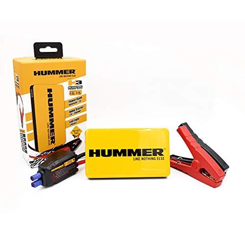 Hummer H3HM Mini Avviamento/Caricatore con LED Lampada, Giallo/Nero