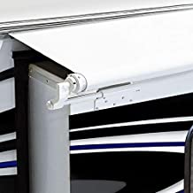 RecPro RV Slide Out Awning | RV Slide Topper | Slideout Awning | Fabric Only | Size Options Available | Black or White Version (46
