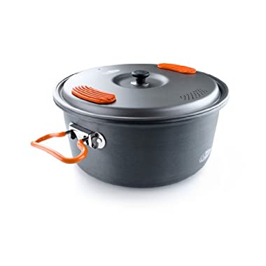 GSI Outdoors - Halulite Cook Pot, Camping Cook Pot, 3.2 Liter, Superior Backcountry Cookware Since 1985