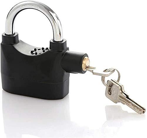 First Choice Alarmsperre tragbare Diebstahlsicherungsverriegelung mit 3 Tasten Vorhängeschloß Smart Security Wasserdichtes Vorhängeschloß for Fahrradschließfach, Schrank, Tür Xping plm46