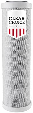 Clear Choice Sediment Water Filter 5 Micron 10 x X 2 Water Filter Cartridge Replacement 10 inch product image