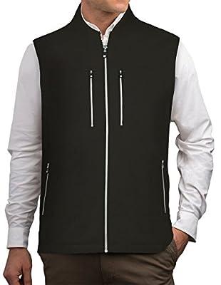 SCOTTeVEST Men's 101 Travel Vest | 9 Concealed Pockets | Anti-Pickpocket from