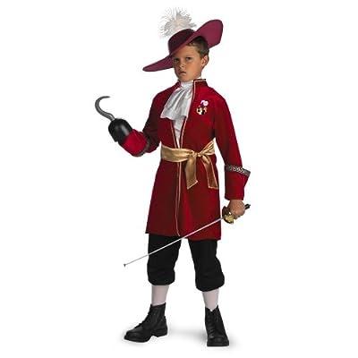 Disney Captain Hook Boys' Costume