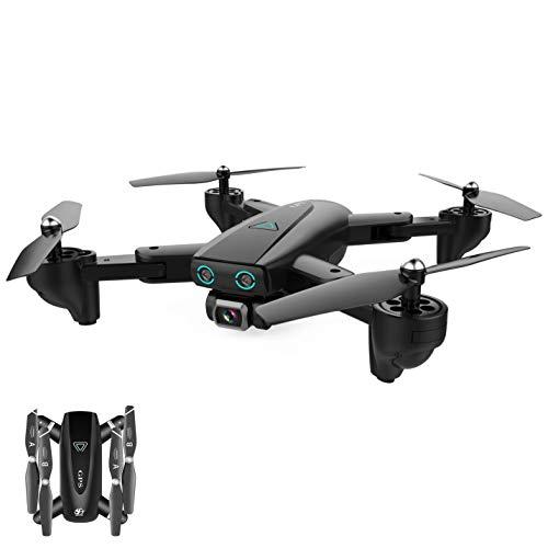 Drone con Camara HD Drone 1080P/4K Drone GPS Drones con Camaras Profesional 2.4G/5.8G WiFi FPV App Distancia de FPV de Drone Largo Tiempo de Vuelo Drone Plegable RC Drone,Color Box,720P2.4G