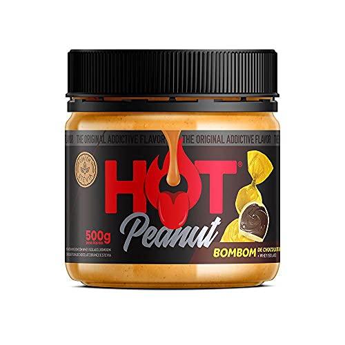 Pasta de Amendoim Bombom Chocolate Branco 500g - Porn Fit