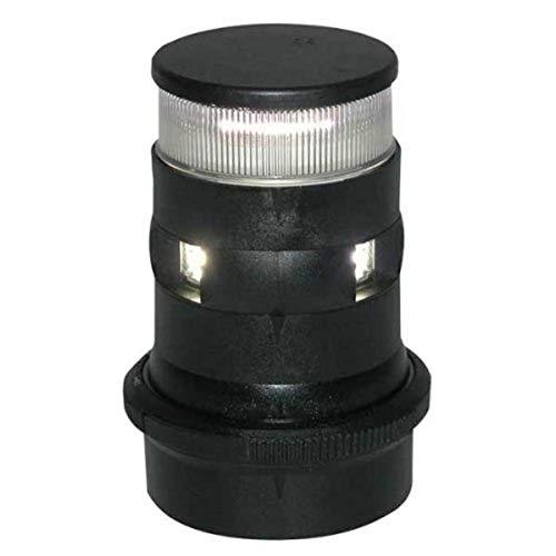 Aqua Signal Masthead/Anchor LED Navigation Light with Black Housing by Aqua Signal