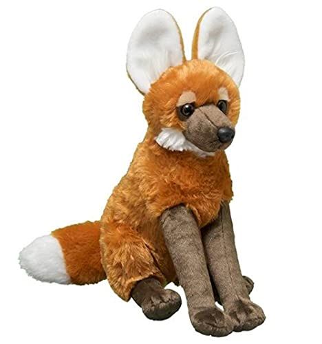 NC277 Simulation maned wolf plush toy doll