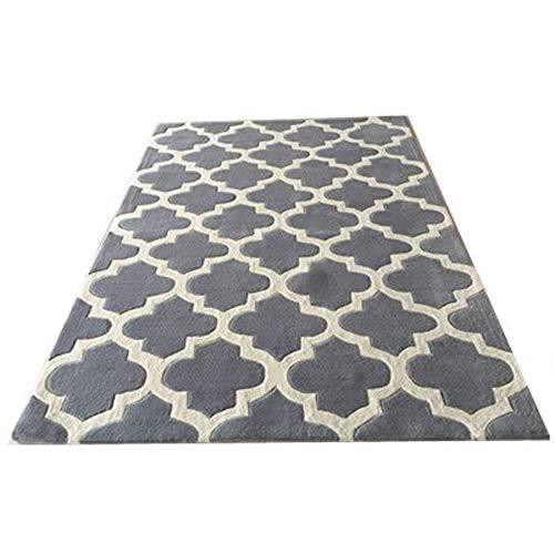 KK Zachary Rug Nordic Minimalistische Wohnzimmer Couchtisch Schlafsofa Schlafzimmer Teppichgeschäft for Handgemachte Acryl-Material Bettvorleger Matten (Size : 2 * 3m)