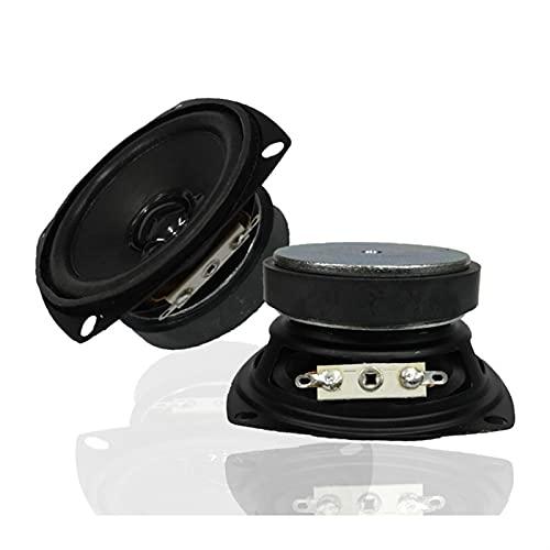 Wnuanjun 2 stücke 3 Zoll Sound Lautsprecher Treiber 4 Ohm 15 Watt Verstärker Lautsprecher Full Rnage Audio Lautsprecher DIY Heimkino