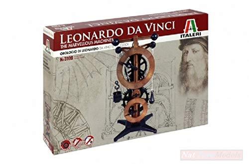 Italeri IT3109 Orologio LEONARDO DA VINCI KIT cm 25x13 MODELLINO MODEL