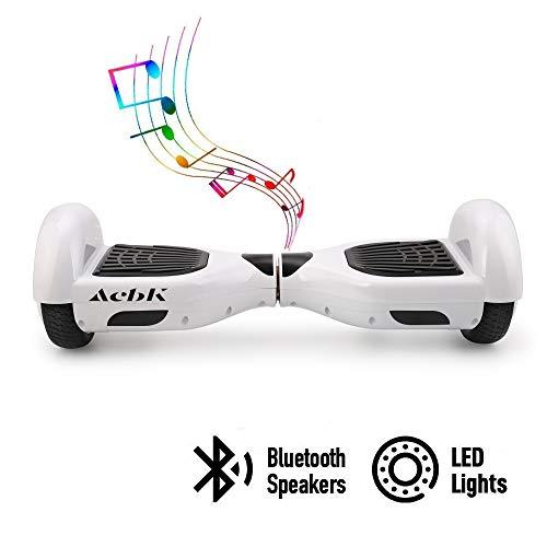 ACBK - Elektro Skateboard Self Balance Hover mit Reifen 6,5