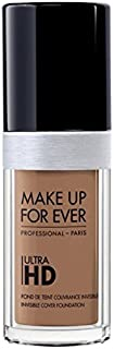 Foundation Ultra Hd Fluid Foundation Ultra Hd, Y455 Praline , Authentic 100% From Paris France (Smooth, Oil Free , Cover Ance Dark Spot , Brightening) 30ml