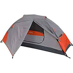 ALPS Mountaineering Koda 1 Tent: 1-Person 3-Season (Orange/Grey)