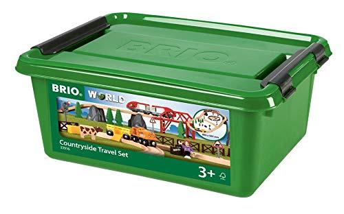 BRIO Bahn 33916 - Country Reisezug Set in Kunststoffbox